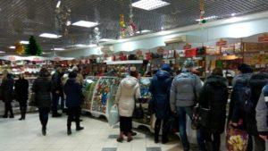 """Фирменный магазин шоколадной фабрики """"Коммунарка"""" в торговом центре"""