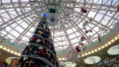 Новогодняя елка в ТРК Столица в Минске
