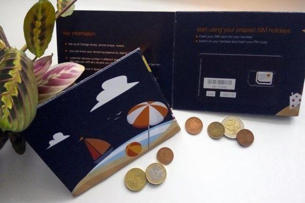 Купить европейскую сим-карту, подключить мобильную связь в Европе, оператор Orange