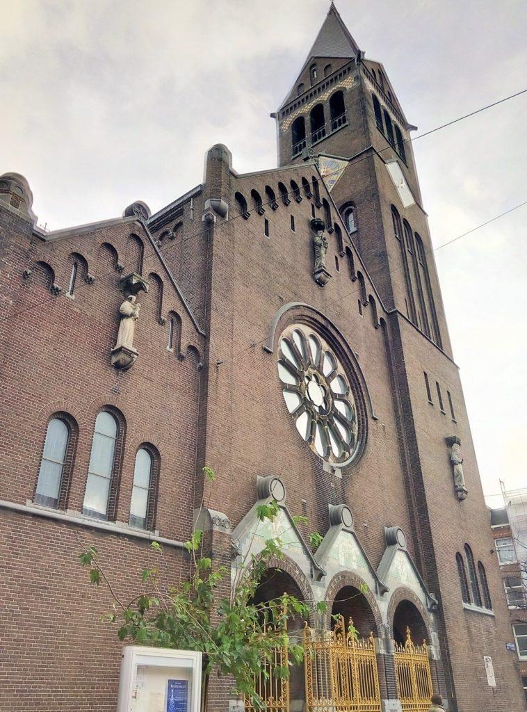 Протестантская церковь в Амстердаме