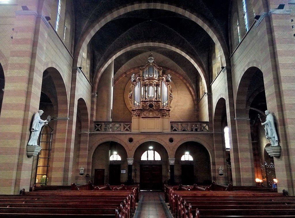 Интерьер протестантского храма в Амстердаме