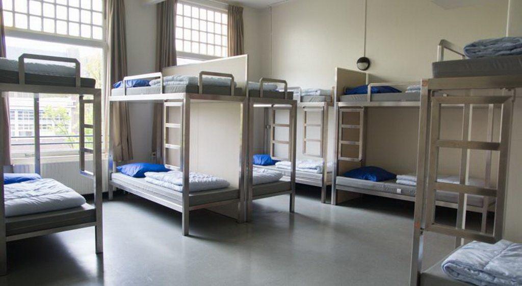Общие комнаты в хостеле Амстердам