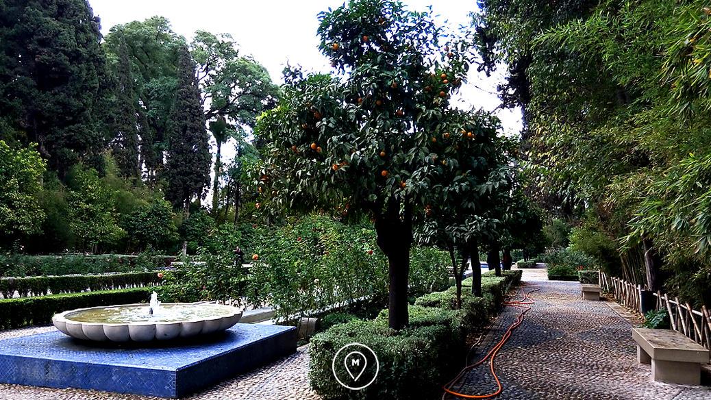Сады Бужелуд в Фесе