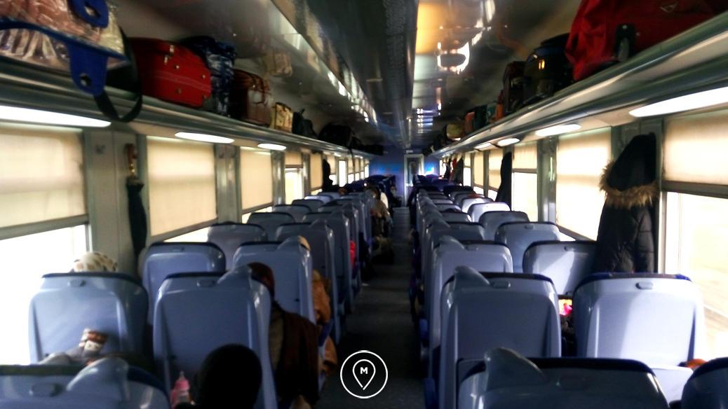 Марокканский поезд