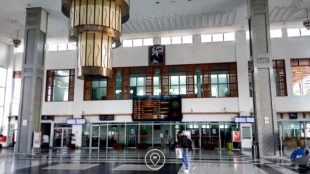 Вокзал Феса внутри