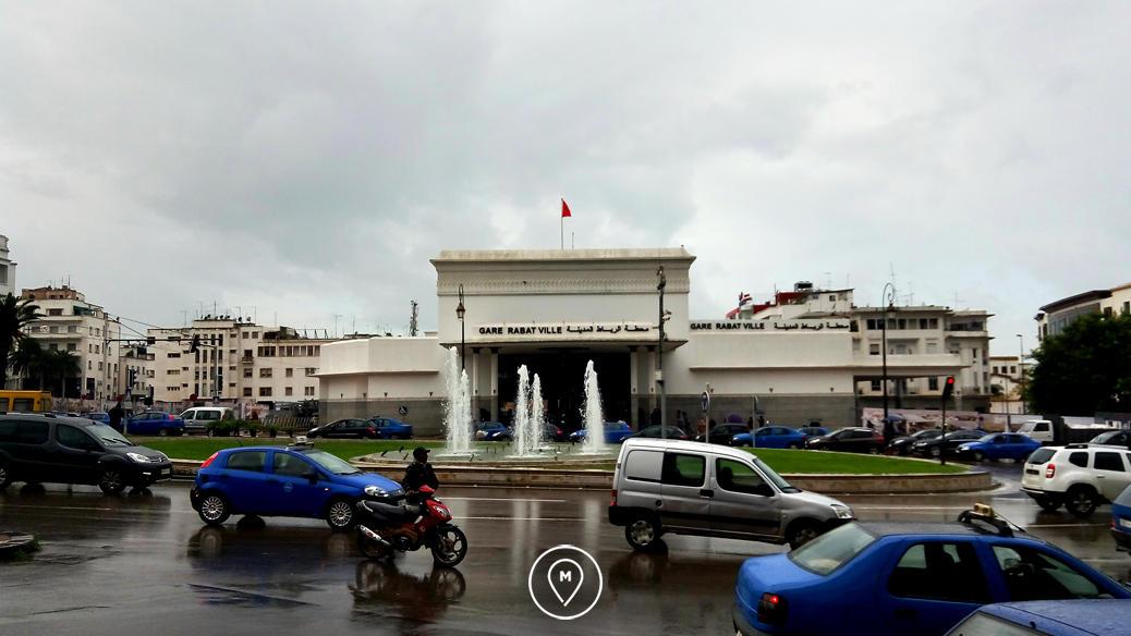 Центральный железнодорожный вокзал Рабата