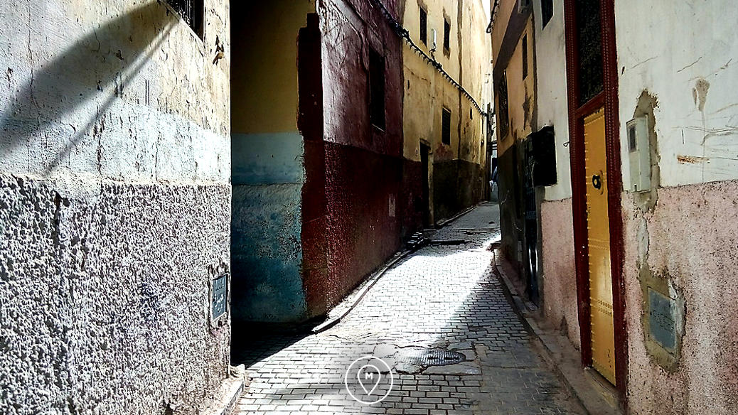 Улицы медины Феса