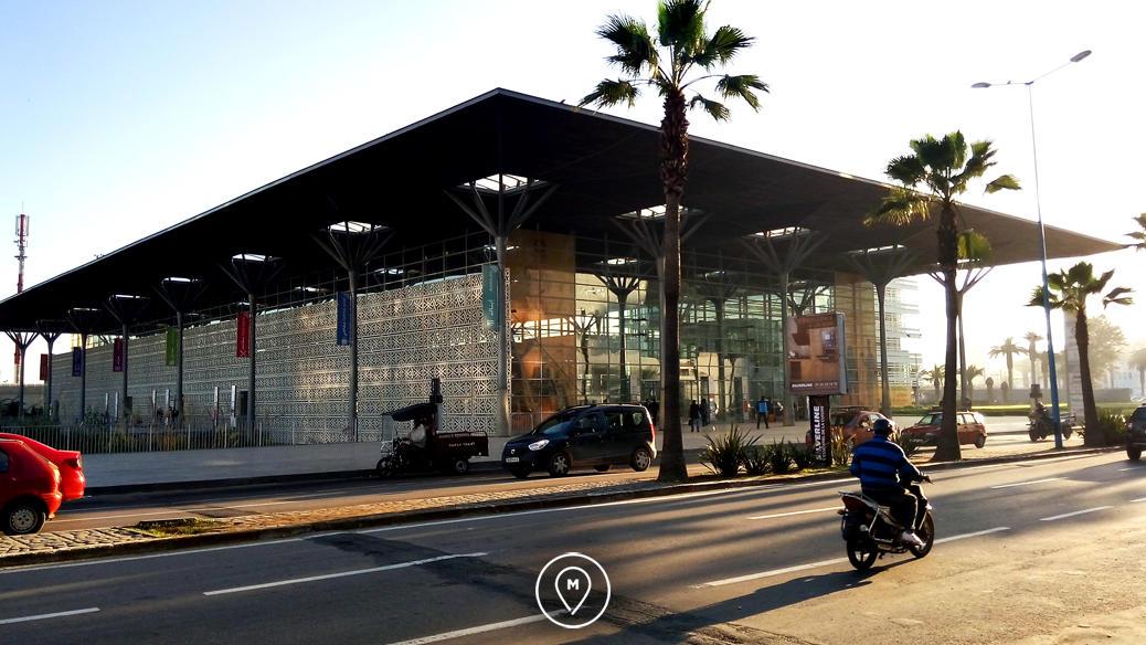 Железнодорожный вокзал в Касабланке