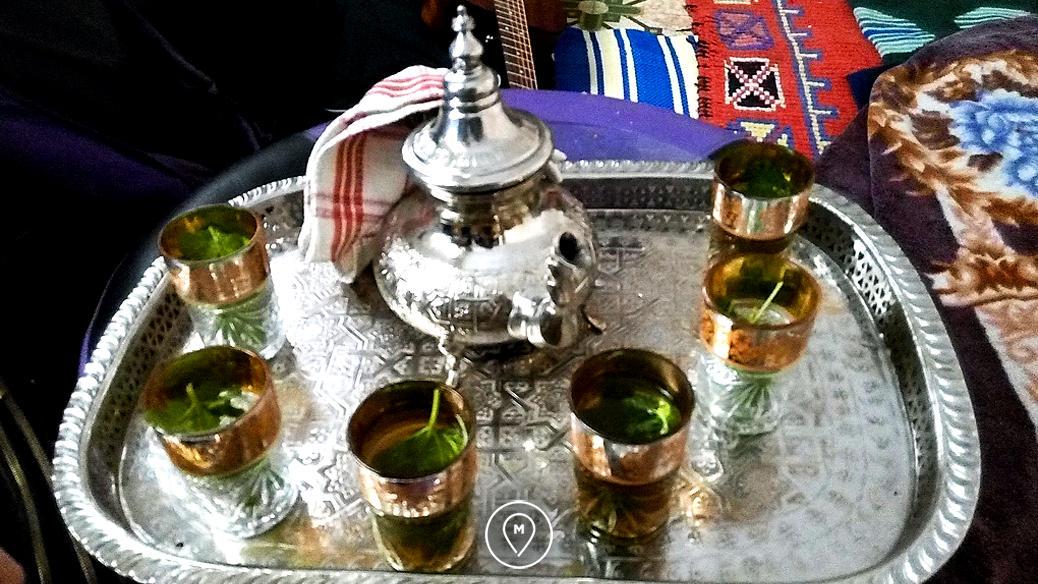 Традиционный марокканский чай