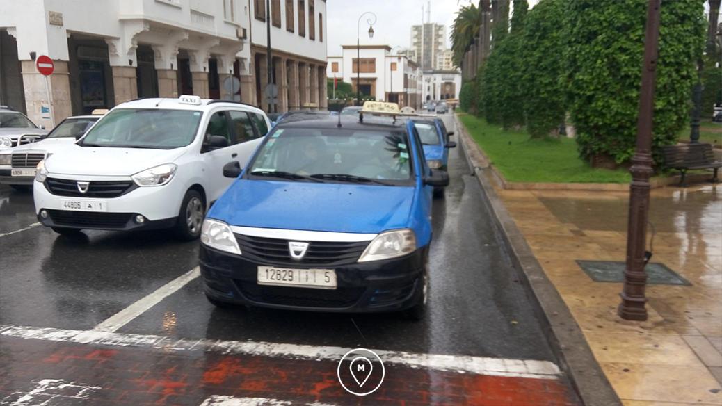 Такси в Рабате