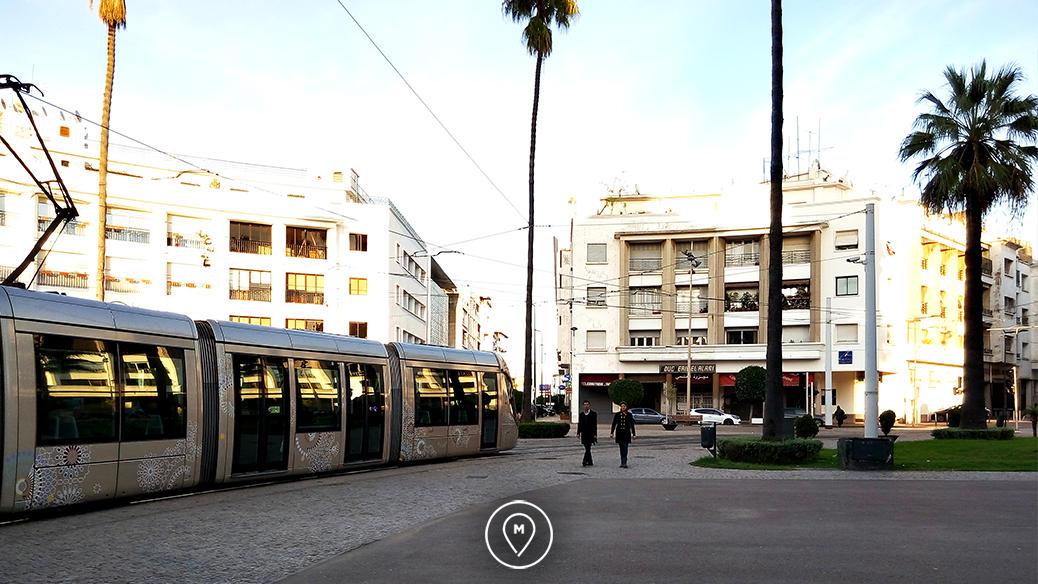 Трамвай в Рабате