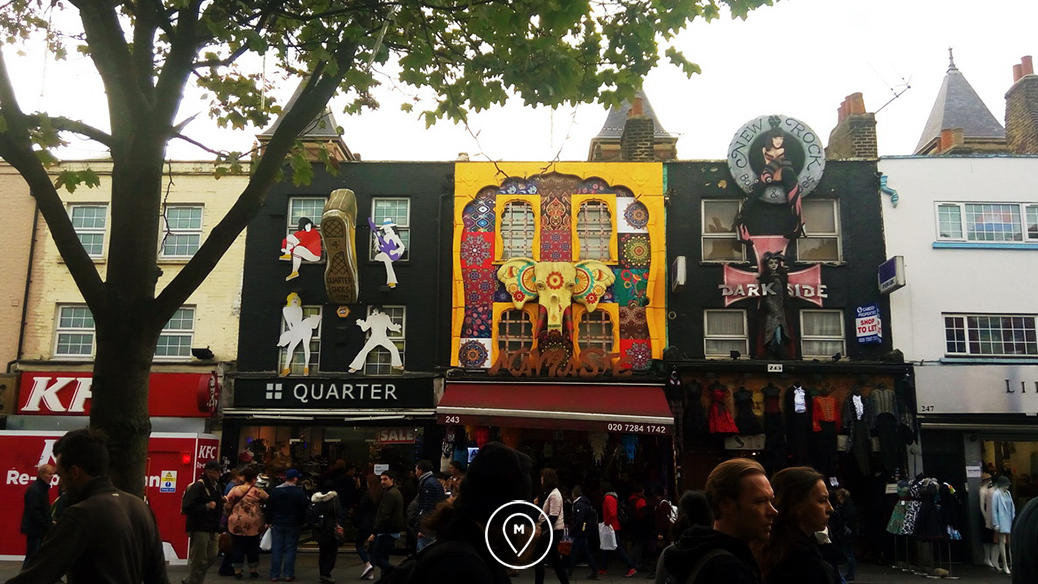 Блошиные рынки - Кэмден маркет в Лондоне