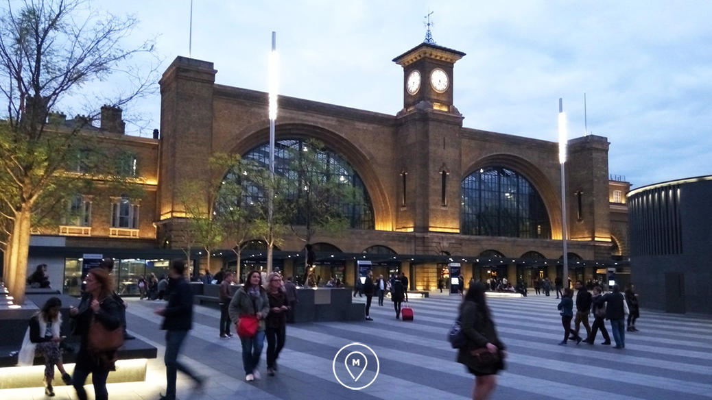 Вокзал Кингс-Кросс в центре Лондона