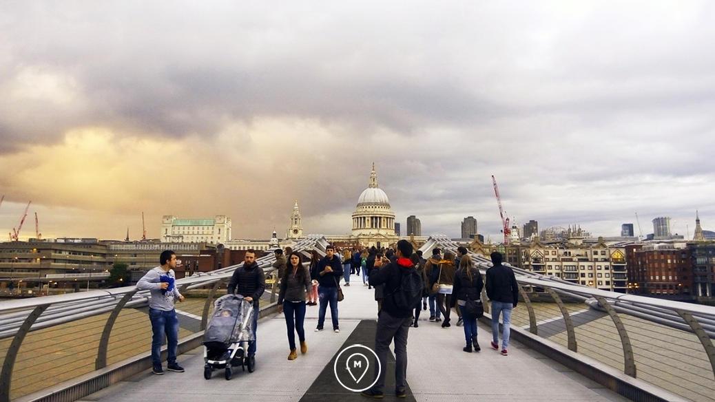 """Мост """"Миллениум"""" в Лондоне"""