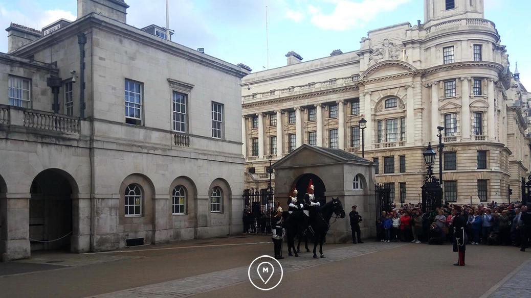 Королевская конная гвардия в Лондоне