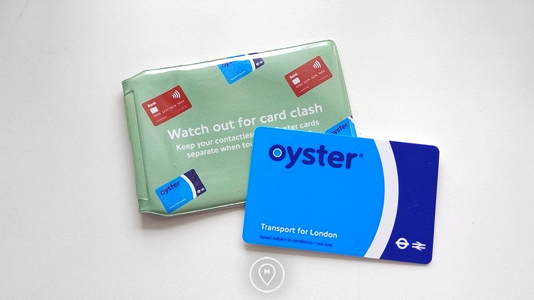 Транспортная карта Лондона Oyster