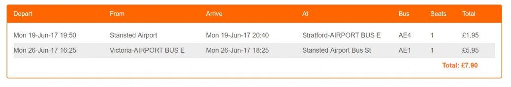 Как дешево добраться из аэропорта Станстед