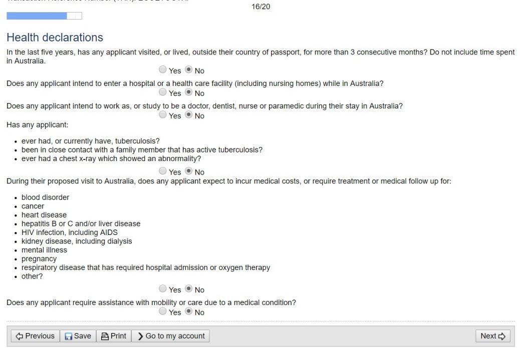 Виза Австралии онлайн 21