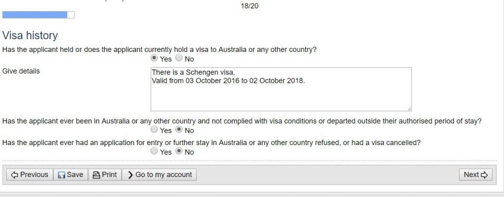Виза Австралии онлайн 24