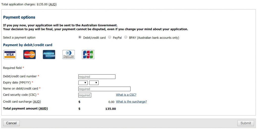 Виза Австралии онлайн 28 2