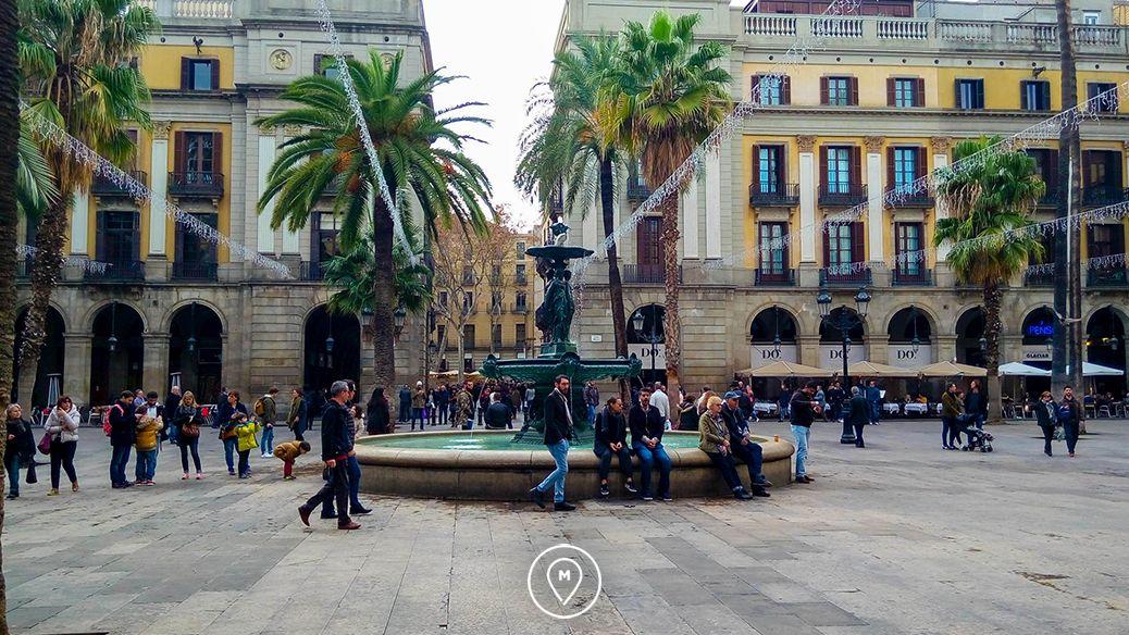 Готический квартал в Барселоне 3