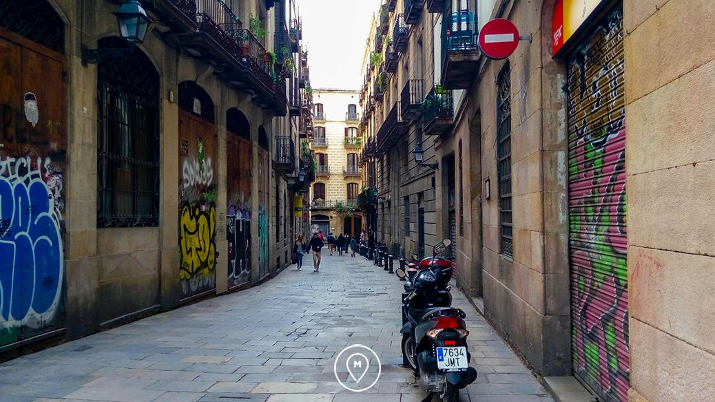 Готический квартал в Барселоне 2