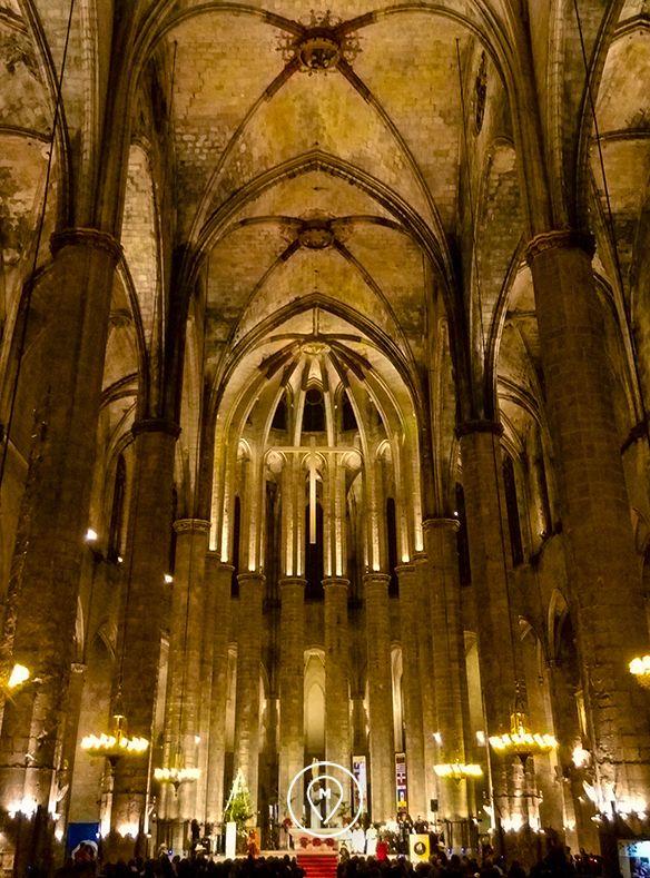 Церковь Санта-Мария-дель-Мар в Барселоне 2