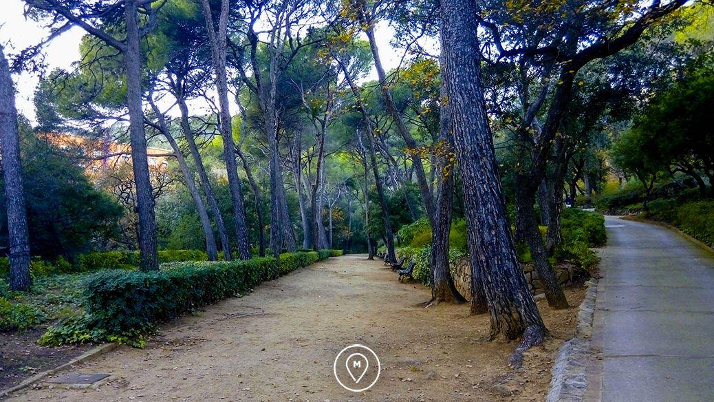 Парк Лабиринт Орта в Барселоне 5