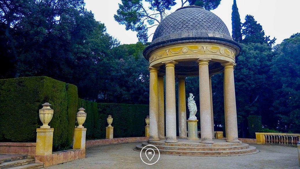 Парк Лабиринт Орта в Барселоне 3