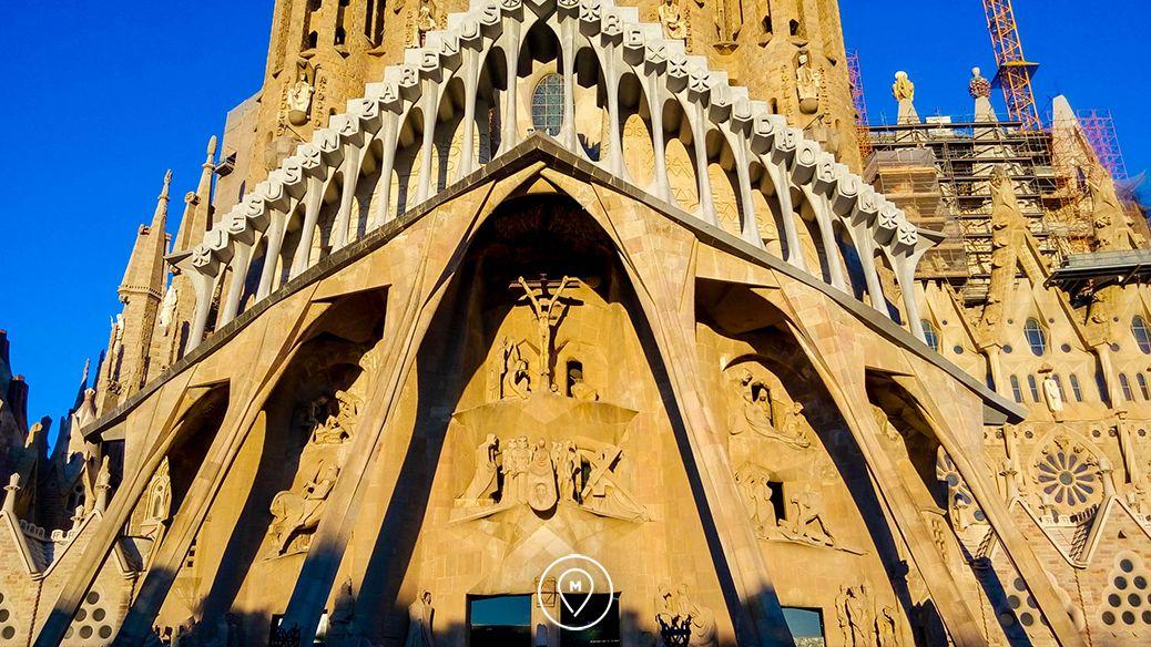 Саграда Фамилия Барселона детали