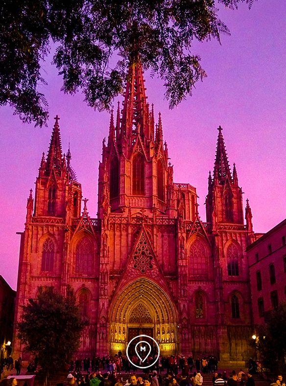 кафедральный собор Барселоны – Святого Креста и Святой Евлалии