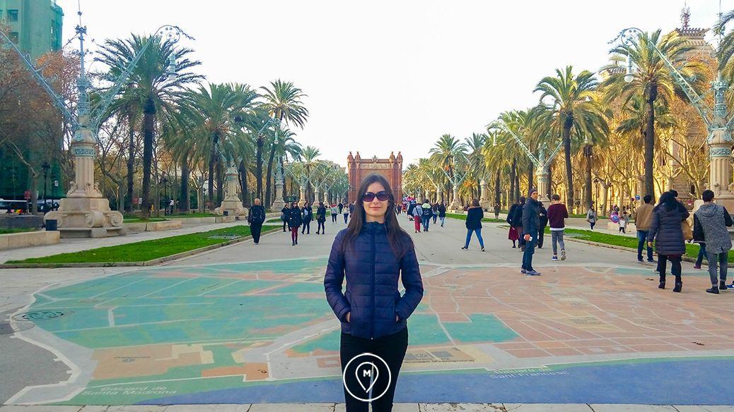 Триумфальная арка Барселона