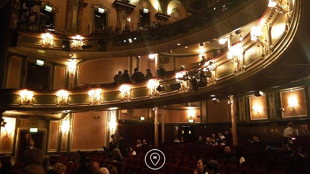"""Театр ее Величества в Лондоне - мюзикл """"Призрак оперы"""""""