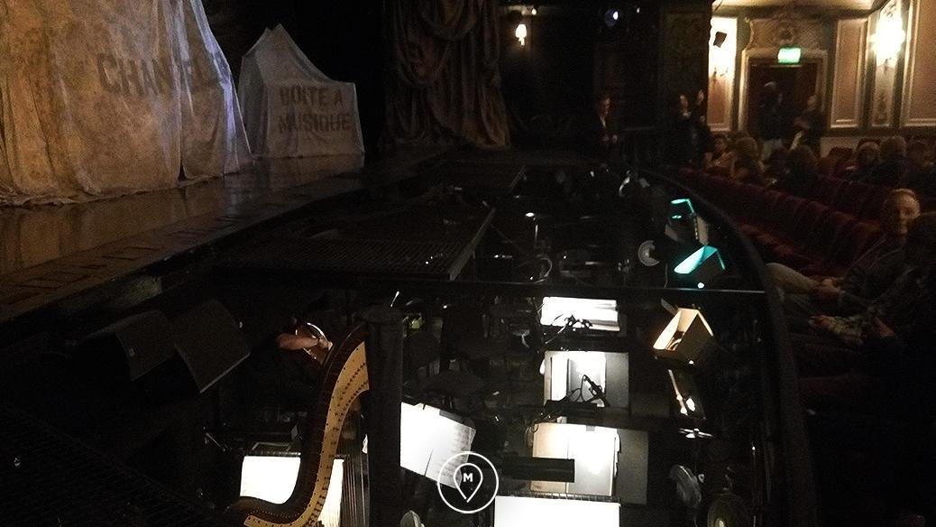 """Театр ее Величества в Лондоне - мюзикл """"Призрак оперы"""" - оркестр"""