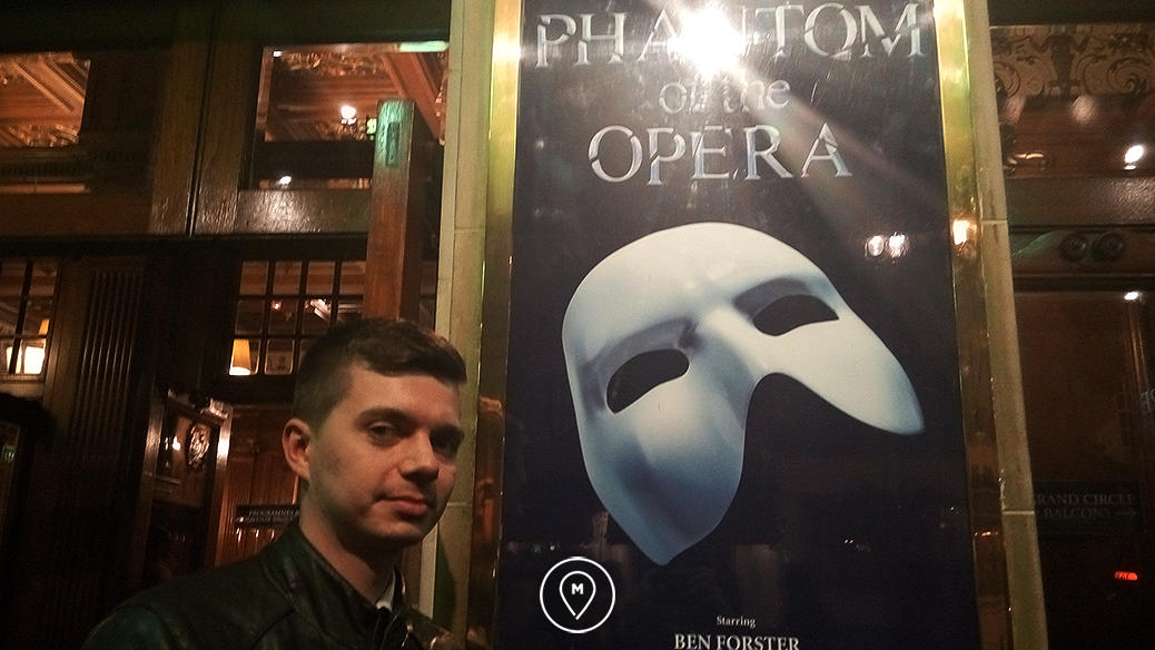 Где в Лондоне посмотреть мюзикл «Призрак Оперы»?