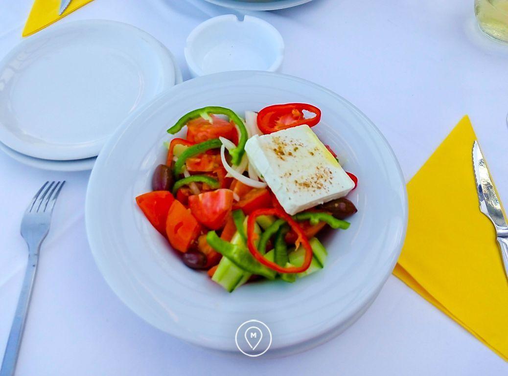 Греческий салат, Крит 2015