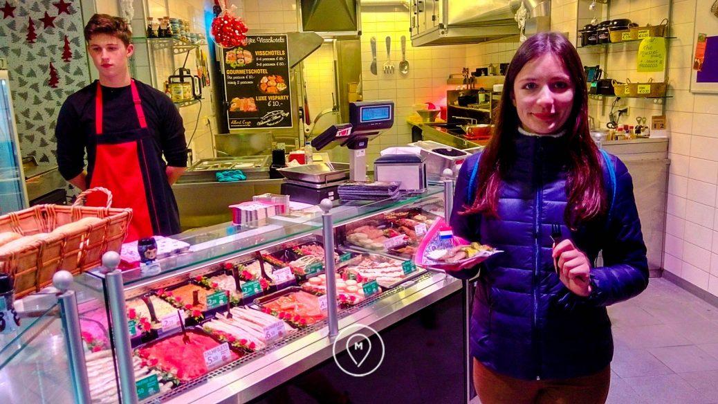 Уличная еда в Амстердаме